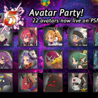 22 Disgaea 5 Avatars on PSN!